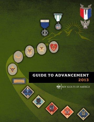 GUIDE TO ADVANCEMENT 2013 - Gulf Coast Council