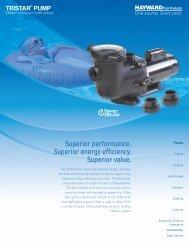 TriStar® Pump - Seven Seas Pools