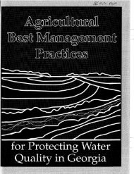 Agricultural Best Management Practices for Protecting Water Quality ...