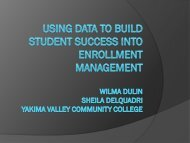 Using Data to Build Student Success Into Enrollment ... - AACRAO