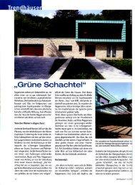 """Grüne Schachtel"" - Dipl. Ing. Bernhard Mensen"