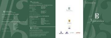 el programa completo en detalle 1.51 Mb - ULPGC - Universidad de ...