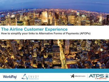 Presentation in PDF - Airline Information