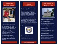 Why be an election worker? - Nebraska Secretary of State