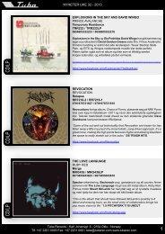 CD/LP CD/LP CD/LP - Tuba Records