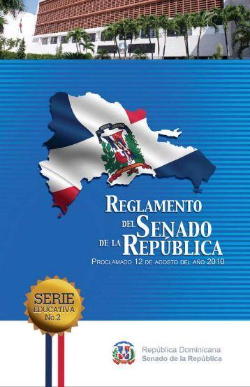 Reglamento del Senado de la República - Congreso de la ...