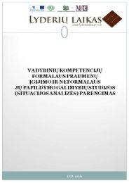 346.pdf - Lyderių laikas - Švietimo ir mokslo ministerija