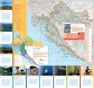 Cestovna i turistička karta Hrvatske - Nostromo