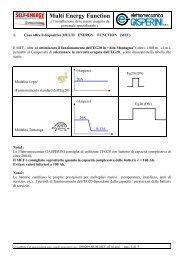 Multi Energy Function - Telecogroup