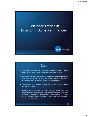 Division III Ten Year Finances for web