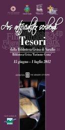 Tesori dalla Biblioteca Civica di Varallo - Bernstein