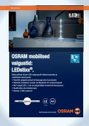 OSRAM mobiilsed valgustid: LEDstixx®.