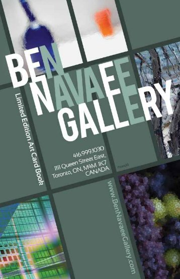 Catalogue - Ben Navaee Gallery
