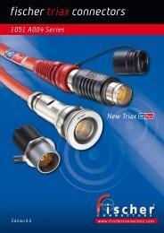 Fischer 1051 Triax HD Pro+ Connectors - Fischer Connectors