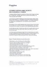 Goppion - Tarbes-Infos