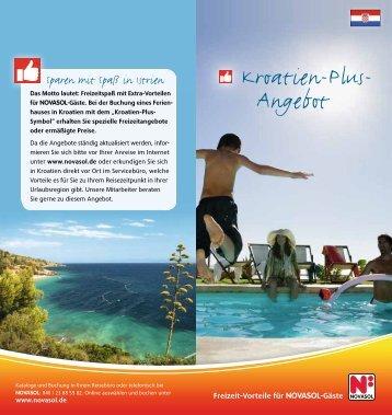 Kroatien-Plus- Angebot - Novasol