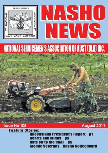 NATIONAL SERVICEMEN'S ASSOCIATION OF ... - Nasho Front Page