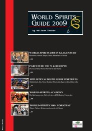 WORLD SPIRITS GUIDE 2009