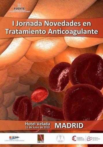 I Jornada Anticoagulante - Sociedad Española de Medicina Interna