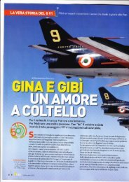 Settembre 2010 La vera storia del G 91 - Aeronautica Militare Italiana