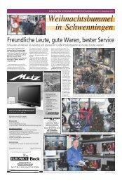 Weihnachtsbummel in Schwenningen - NQ Online