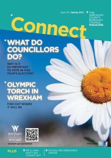 Connect Magazine Spring 2012 - Wrexham County Borough Council