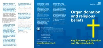 Christianity and organ donation