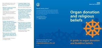 Buddhism and organ donation