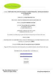 Información curso Pilates.pdf - Fisaude