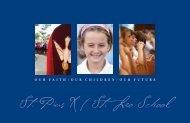 St. Pius X / St. Leo School 6905 Blondo St