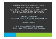 what is urban renewal?