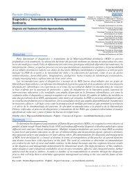 Diagnóstico y Tratamiento de la Hipersensibilidad Dentinaria.