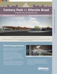 Preliminary Engineering Handout - City of Edmonton