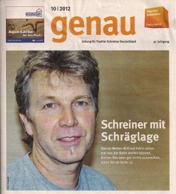 -: 1012012 - Wilfried Faltin - Tischler.de