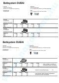 Bettsystem DUBAI - Novo Home - Seite 6
