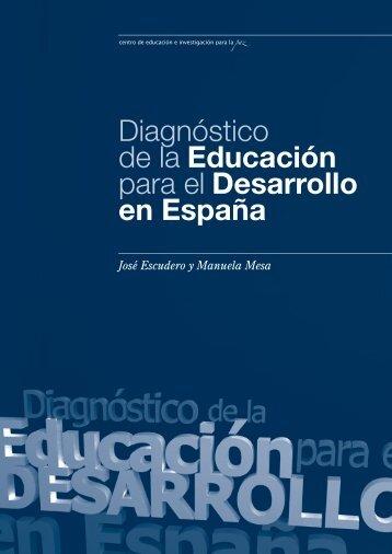Diagnóstico de la Educación para el Desarrollo en España - CEIPAZ