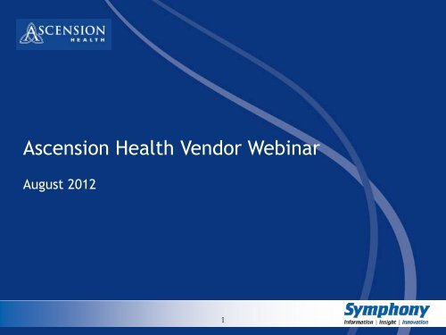PeopleSoft Vendor Portal Functionality - Ascension Health