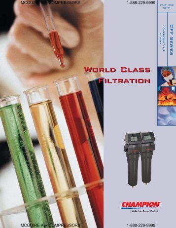 World Class Filtration World Class Filtration - McGuire Air ...