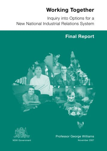 to download a copy of the Working Together report - Health Services ...