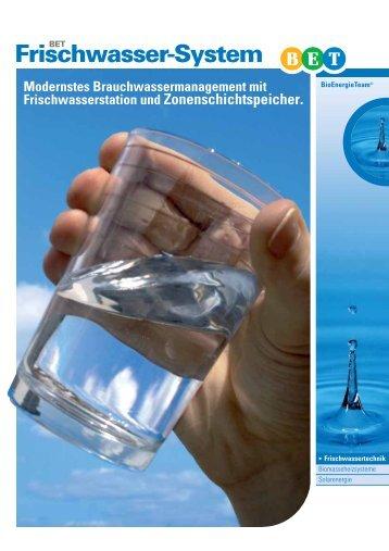 T Frischwasser-System - APRITEC GmbH