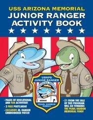 USS Arizona Memorial Junior Ranger Activity Book