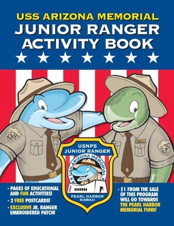USS Arizona Memorial Junior Ranger Activity Book