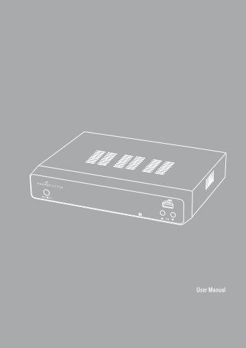 User Manual - Energy Sistem