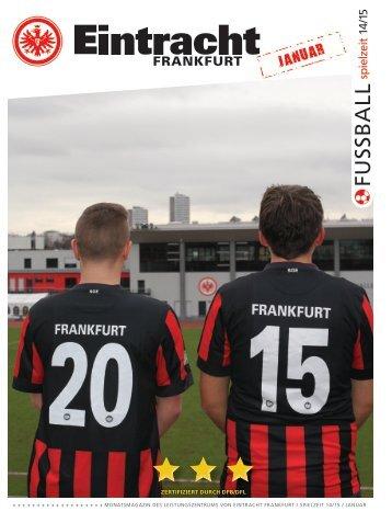 Eintracht Frankfurt Spielzeit 14/15 Januar
