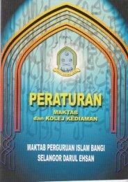 Buku Peraturan - Laman Web Rasmi IPGM Kampus Pendidikan Islam