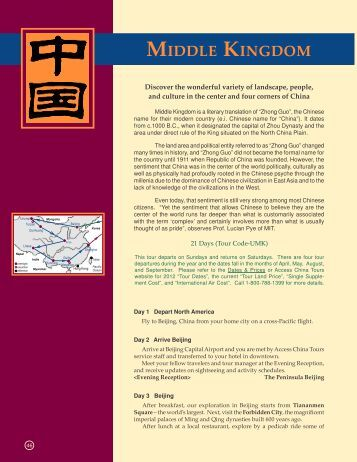 2010 China Package Brochure latest.p65 - Access China Tours