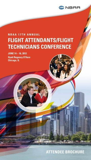 2012 Attendee Conference Brochure - NBAA