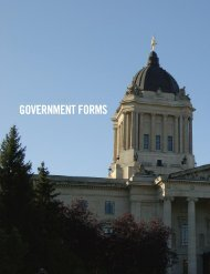 GOVERNMENT FORMS - MDA