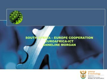 south africa – europe cooperation euroafrica-ict anneline morgan