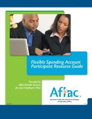 Flexible Spending Account Participant Resource Guide - NYSUT